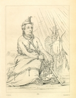 [Black Moccasin, aged chief, Letters and Notes on the Manners, Customs, and Condition of the North American Indians.]