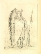 [Black Rock, a Two Kettle (?) chief, Letters and Notes on the Manners, Customs, and Condition of the North American Indians.]