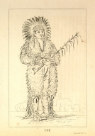 [Loose Pipestem, a brave, Letters and Notes on the Manners, Customs, and Condition of the North American Indians.]