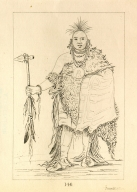 [Big Elk, a famous warrior, Letters and Notes on the Manners, Customs, and Condition of the North American Indians.]