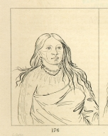 [Thighs, a Wichita woman, Letters and Notes on the Manners, Customs, and Condition of the North American Indians.]