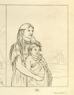 [Thunderer, a boy, and White Weasel, a girl, Letters and Notes on the Manners, Customs, and Condition of the North American Indians.]