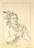 [He Who Fights with a Feather, chief of the tribe, Letters and Notes on the Manners, Customs, and Condition of the North American Indians.]