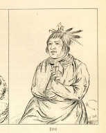 [Bear Traveling at Night, a chief, Letters and Notes on the Manners, Customs, and Condition of the North American Indians.]