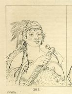[Good Hunter, a warrior, Letters and Notes on the Manners, Customs, and Condition of the North American Indians.]