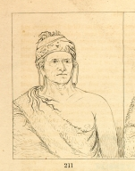 [Goes Up the River, an aged chief, Letters and Notes on the Manners, Customs, and Condition of the North American Indians.]
