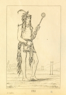 [He Who Stands on Both Sides, a distinguished ball player, Letters and Notes on the Manners, Customs, and Condition of the North American Indians.]