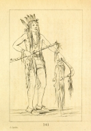[He Who Travels Everywhere, a warrior, Letters and Notes on the Manners, Customs, and Condition of the North American Indians.]