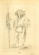 [He Who Sits Everywhere, a brave, Letters and Notes on the Manners, Customs, and Condition of the North American Indians.]