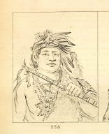 [Grizzly Bear, chief of the tribe, Letters and Notes on the Manners, Customs, and Condition of the North American Indians.]