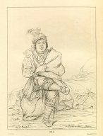 [Mick-e-no-pah, chief of the tribe, Letters and Notes on the Manners, Customs, and Condition of the North American Indians.]