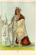 [The Manners, Customs, and Condition of the North American Indians., Buffalo's Child, a warrior]