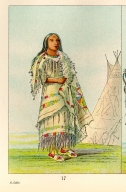 [The Manners, Customs, and Condition of the North American Indians., Woman Who Strikes Many]