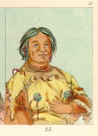 [The Manners, Customs, and Condition of the North American Indians., Woman Who Lives in a Bear's Den]