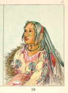 [The Manners, Customs, and Condition of the North American Indians., Pigeon's Egg Head (The Light), a distinguished young warrior]