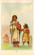 [The Manners, Customs, and Condition of the North American Indians., Assiniboin woman and child]