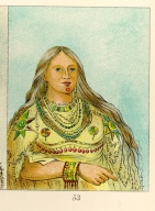 [The Manners, Customs, and Condition of the North American Indians., Mink, a beautiful girl]