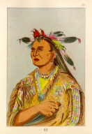 [The Manners, Customs, and Condition of the North American Indians., Bloody Hand, chief of the tribe]