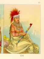 [The Manners, Customs, and Condition of the North American Indians., Man of Sense, a brave]