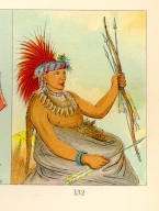 [The Manners, Customs, and Condition of the North American Indians., Busy Man, a brave]