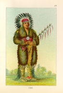 [The Manners, Customs, and Condition of the North American Indians., Loose Pipestem, a brave]