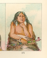 [The Manners, Customs, and Condition of the North American Indians., Wolf Tied with Hair, a chief]