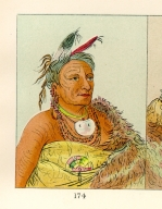 [The Manners, Customs, and Condition of the North American Indians., Wee-ta-ra-sha-ro, head chief of the tribe]