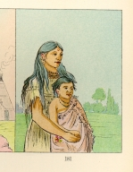 [The Manners, Customs, and Condition of the North American Indians., Thunderer, a boy, and White Weasel, a girl]