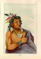 [The Manners, Customs, and Condition of the North American Indians., He Who Fights with a Feather, chief of the tribe]
