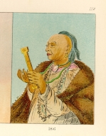 [The Manners, Customs, and Condition of the North American Indians., Cock Turkey, repeating his prayer]