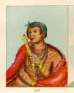 [The Manners, Customs, and Condition of the North American Indians., The Sauk, in the act of praying]