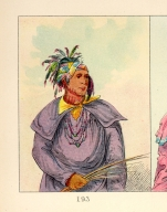 [The Manners, Customs, and Condition of the North American Indians., Man Who Tracks, a chief]