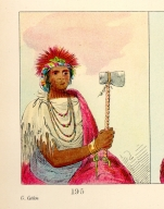 [The Manners, Customs, and Condition of the North American Indians., Left Hand, a warrior]