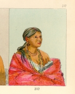 [The Manners, Customs, and Condition of the North American Indians., Female Eagle, daughter of the chief]