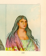 [The Manners, Customs, and Condition of the North American Indians., Ah-hee-te-wah-chee, a pretty woman]