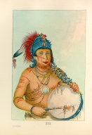 [The Manners, Customs, and Condition of the North American Indians., Blue Medicine, a medicine man of the Ting-ta-to-ah Band]