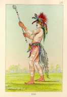 [The Manners, Customs, and Condition of the North American Indians., Red Man, a distinguished ball player]