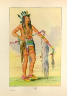 [The Manners, Customs, and Condition of the North American Indians., He Who Travels Everywhere, a warrior]
