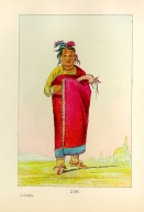 [The Manners, Customs, and Condition of the North American Indians., Kaw-kaw-ne-choo-a, a brave]