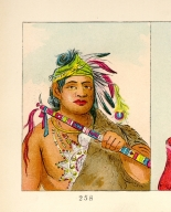 [The Manners, Customs, and Condition of the North American Indians., Grizzly Bear, chief of the tribe]