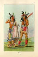 [The Manners, Customs, and Condition of the North American Indians., Two young men]