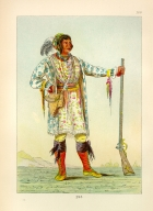 [The Manners, Customs, and Condition of the North American Indians., Osceola, the Black Drink (full length)]