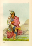 [The Manners, Customs, and Condition of the North American Indians., Mick-e-no-pah, chief of the tribe]