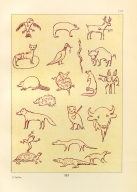 [The Manners, Customs, and Condition of the North American Indians., Animal Figures in Picture-Writing]