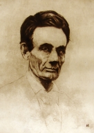 Abe Lincoln without Beard 8/90