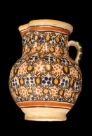 Clay Pitcher-Deruta Color & Style