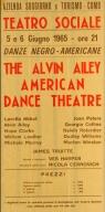 Ailey, 1965 Teatro Sociale