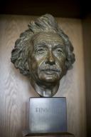 Bust of Einstein