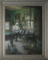 Interior of Cincinnati Art Club
