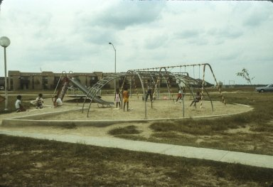 FORT HOOD ARMY BASE FAMILY HOUSING PLAY AREAS